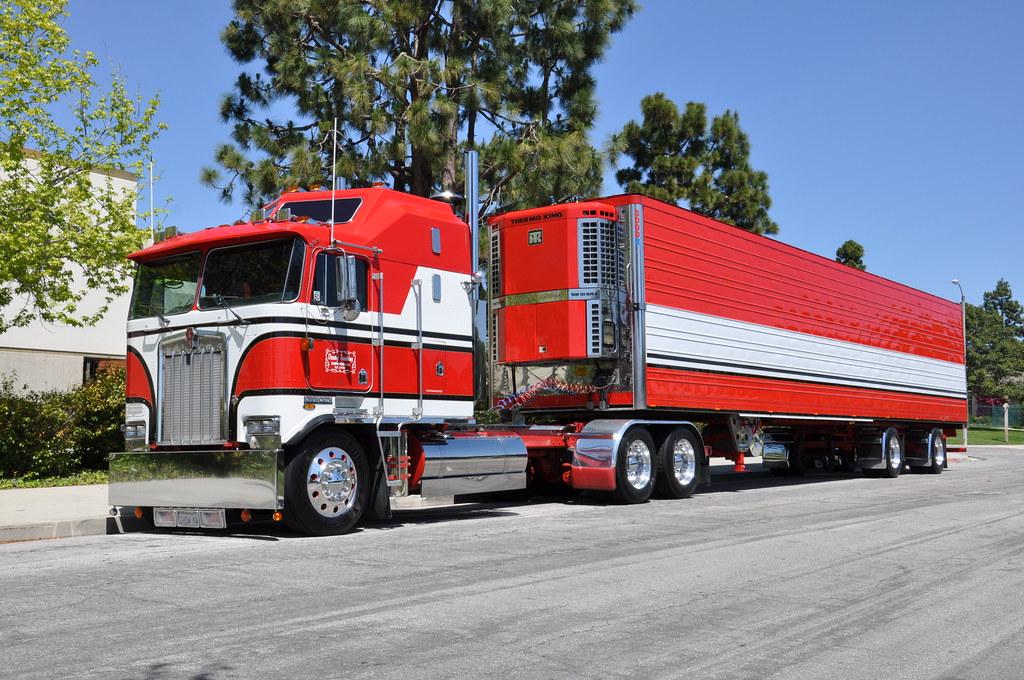 OWNBY TRUCKING - KENWORTH CAB-OVER-ENGINE BIG RIG TRUCK ...