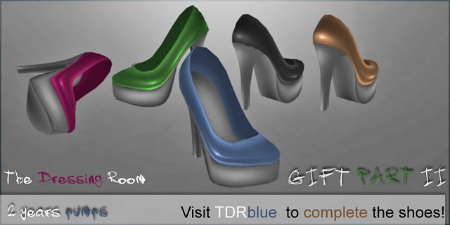 TDR GIFT 2 years pumps PART 2 tdr