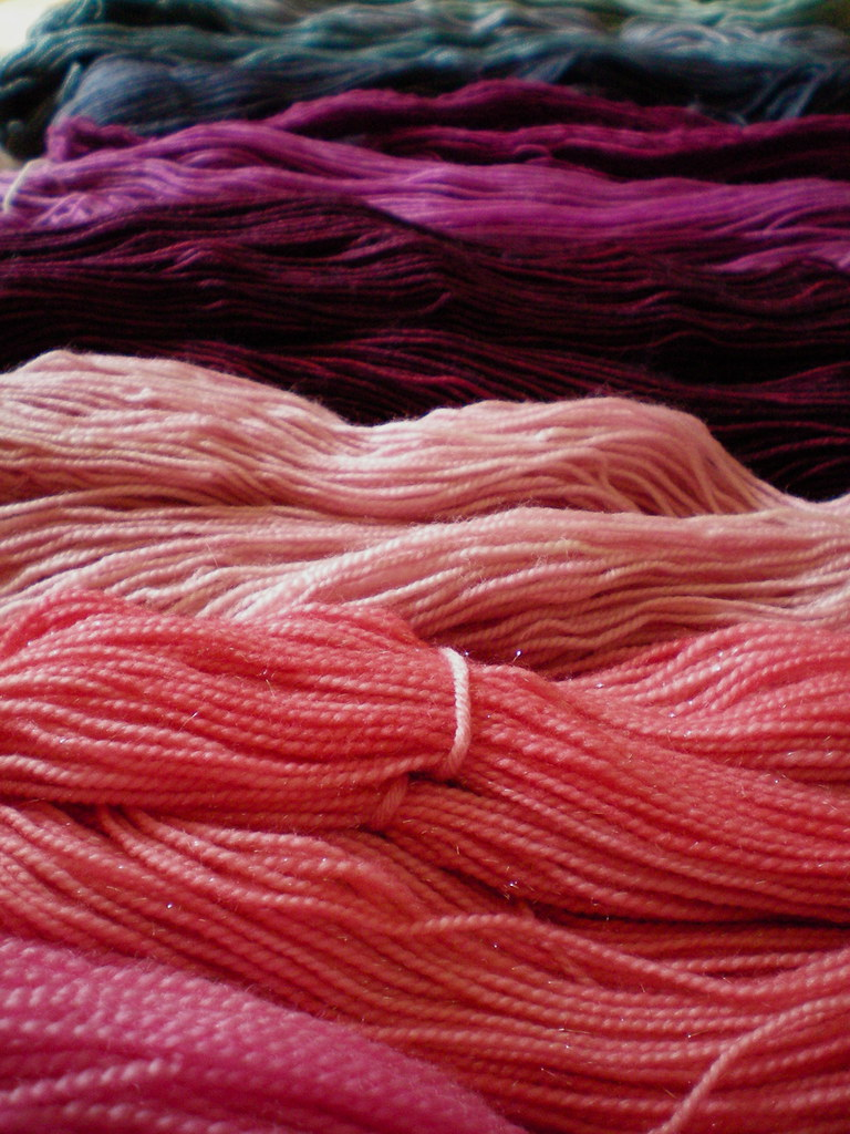Yarn Rainbow - Blog Week Photo Challenge