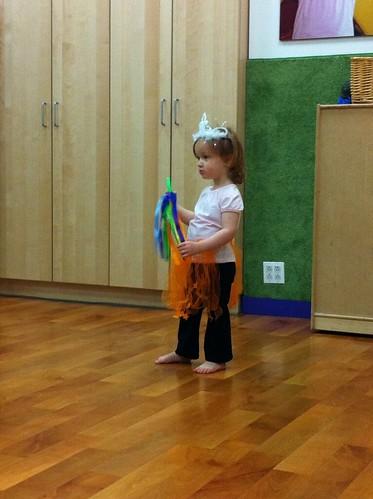 First pre-ballet class