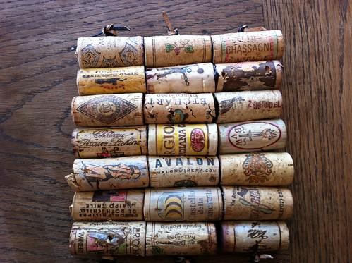 Wine cork trivet!
