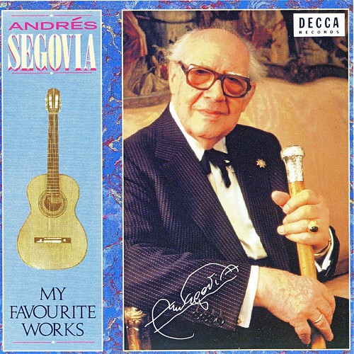 Segovia - My Favourite Works/CD表紙 by Poran111
