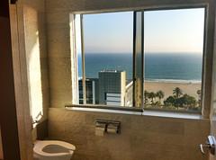 Bathroom view of beach