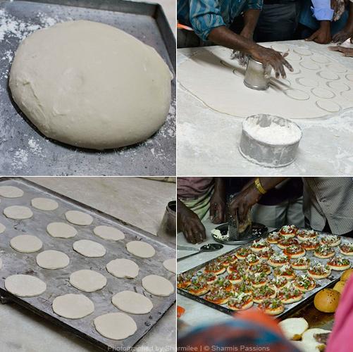 Mini Pizza making