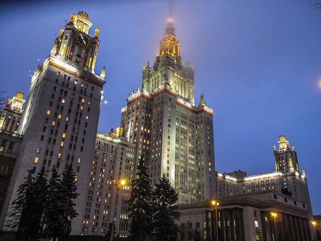 Las Siete Hermanas. Universidad Estatal de Moscú. Rusia.
