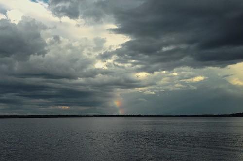 cameraphone cloud ontario canada water rain river rainbow day ottawa photostream 4s iphone constancebay