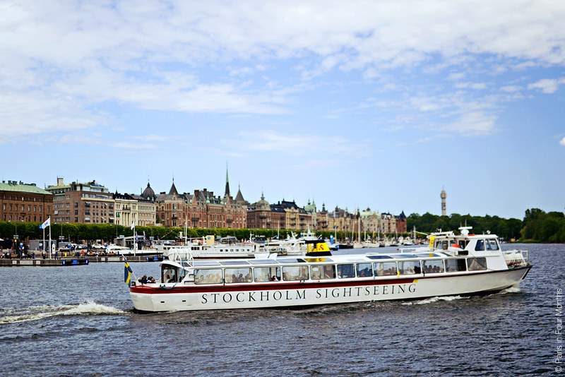Sightseeing Boat in Stockholm