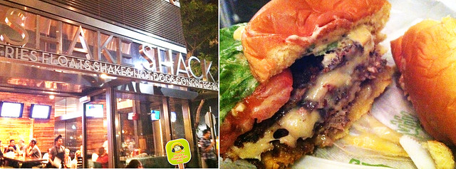 shake shack  Shack Stack Burger