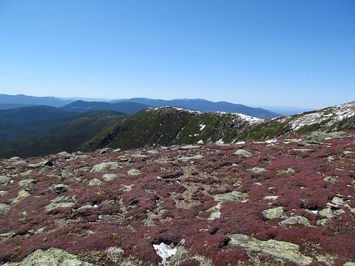 Trail around Mount Monroe, White Mountain National Forest, New Hampshire