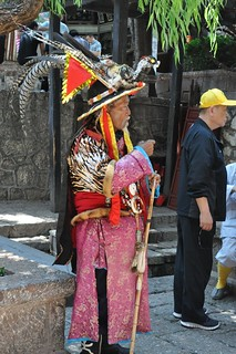 Naxi Man in Costume