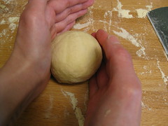 gluten-free brioche buns: shaping ball, part two