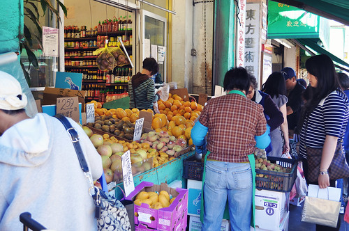 Fresh Produce Market in Chinatown ~ San Francisco, MN