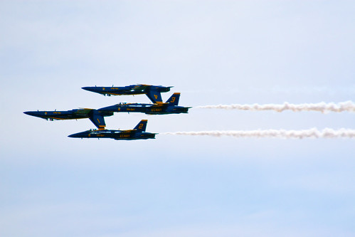 US Navy Blue Angels; Portsmouth, NH June 2012 by Arthur Noel