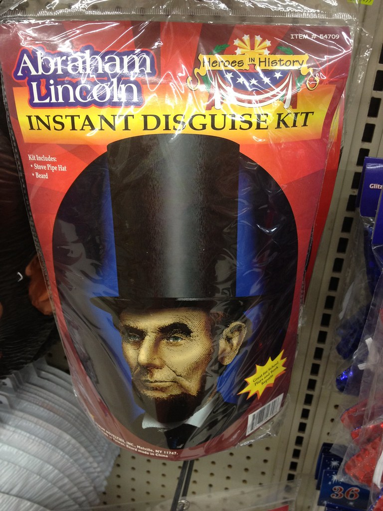 Fourth of July & Summer Products: Abraham Lincoln Instant Disguise Kit