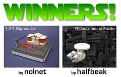 "Winners of the ""Mi-Fi"" microscale Sci-Fi contest"
