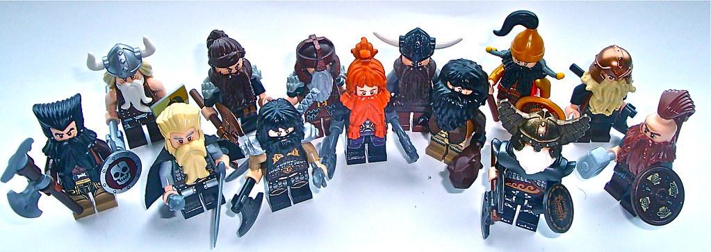 dwarves from the hobbit - Hobbit Dwarves Coloring Pages