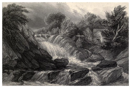 015- Cascada del Machno-Wanderings and excursions in North Wales (1853)- Thomas Roscoe