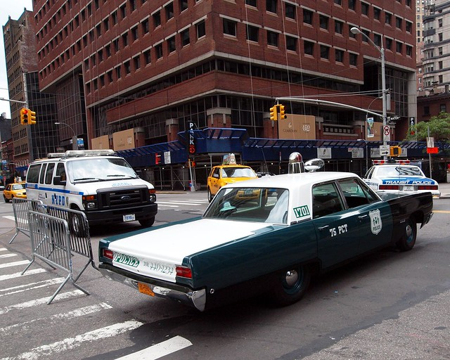 vintage nypd cars 1968 police