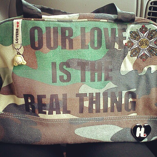 Harajuku Lovers bag from Urban Outfitters