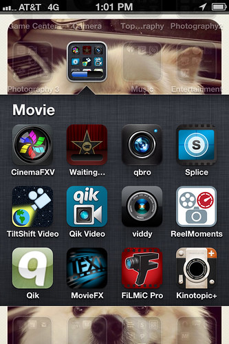 My iPhone video Apps