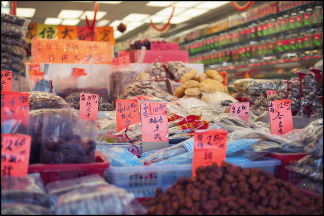 Obligatory Chinatown market shot...