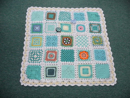 Thanks to everyone that have contributed squares for this blanket.