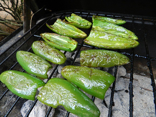 grilled jalapeno peppers