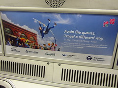 Avoid the Queues Olympic Tube Ad