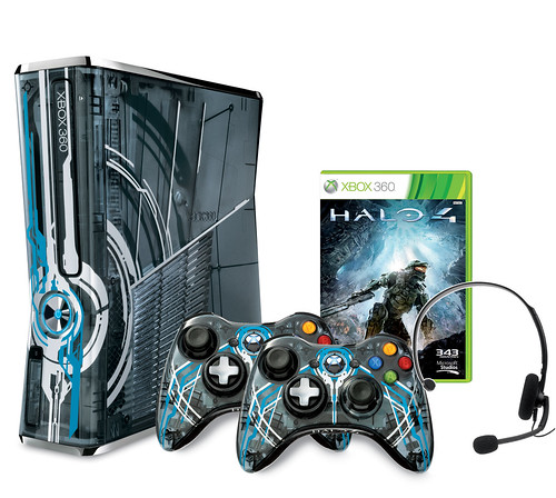 "Xbox 360 Limited Edition ""Halo 4"" Console Bundle"