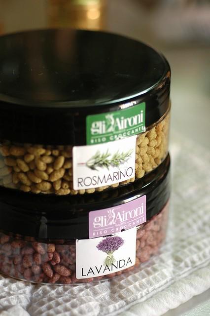 Gusti provenzali: Crunchy Gli Aironi lavanda & rosmarino