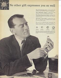 a vintage diamond ad