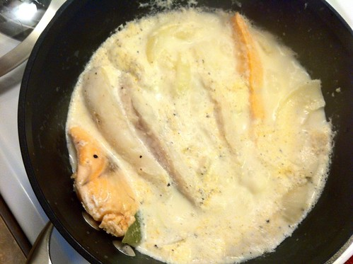 Milk and Fish Simmering