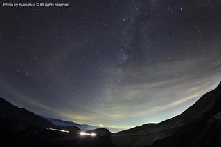 The Milky Way Galaxy @ Mt. Hehuan, Nantou county │ July 14, 2012