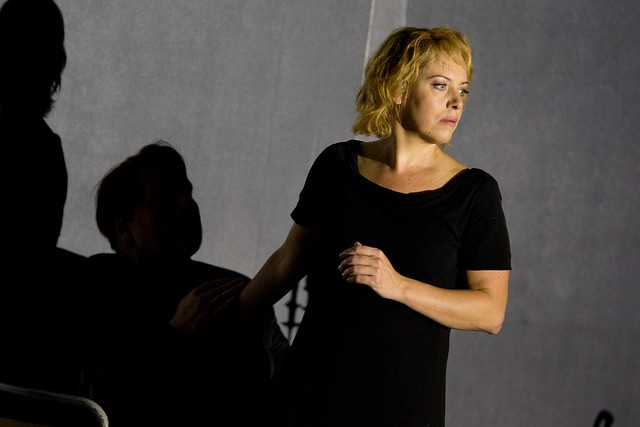 Nina Stemme as Isolde in Christof  Loy's Tristan und Isolde. ©ROH/Bill Cooper 2009-2010