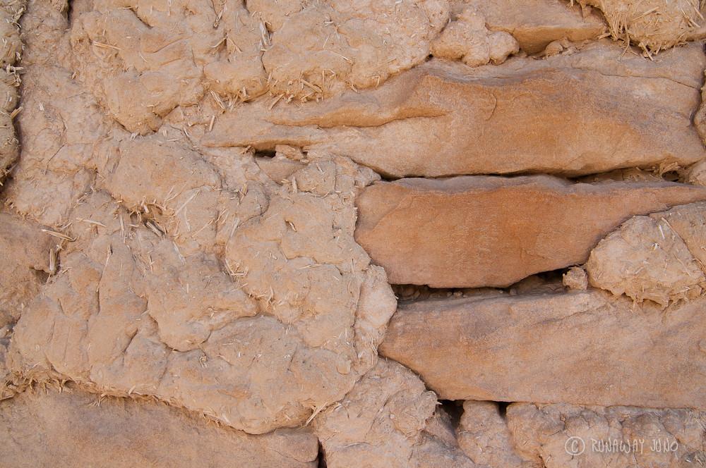 Acoma Pueblo Bud brick detail
