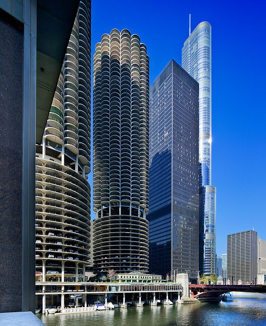 Chicago Il 60613 Mail: Marina City, IBM Building, Trump Tower