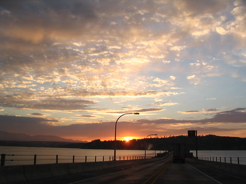 Sunset at Hood Canal