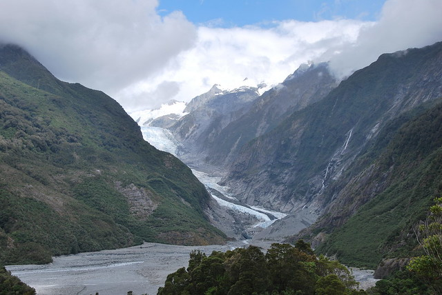 fox and franz josef glaciers how to get