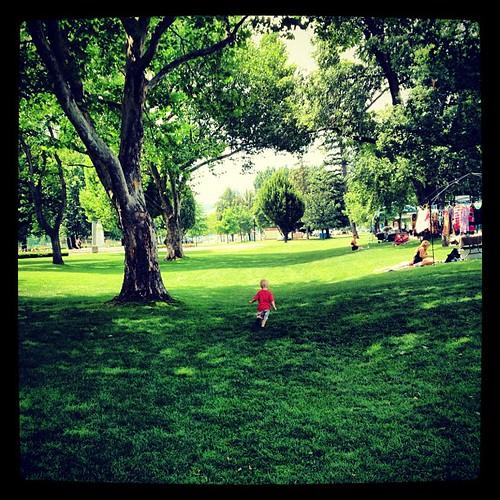 I love love love these lush parks! #latergram