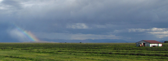 Partial Rainbow: East of Alamosa, Colorado (CO)
