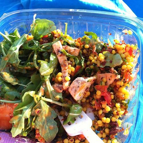 Trader Joe's Moroccan salad FTW!