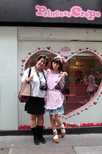 Midori and Mom