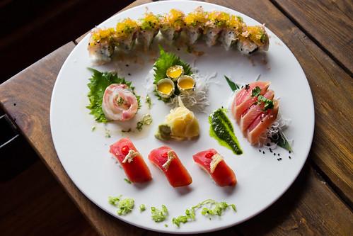 Sushi Platter at Emilia Romagna