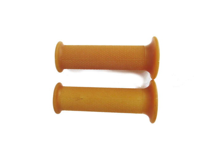 Tanned Natural Rubber Grips