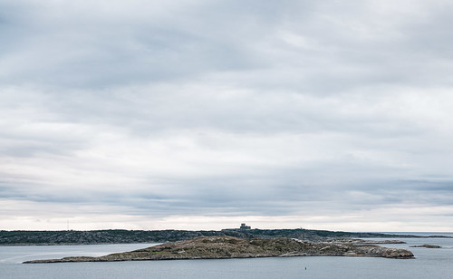 Carlsten's castle at Marstrand by Brintam