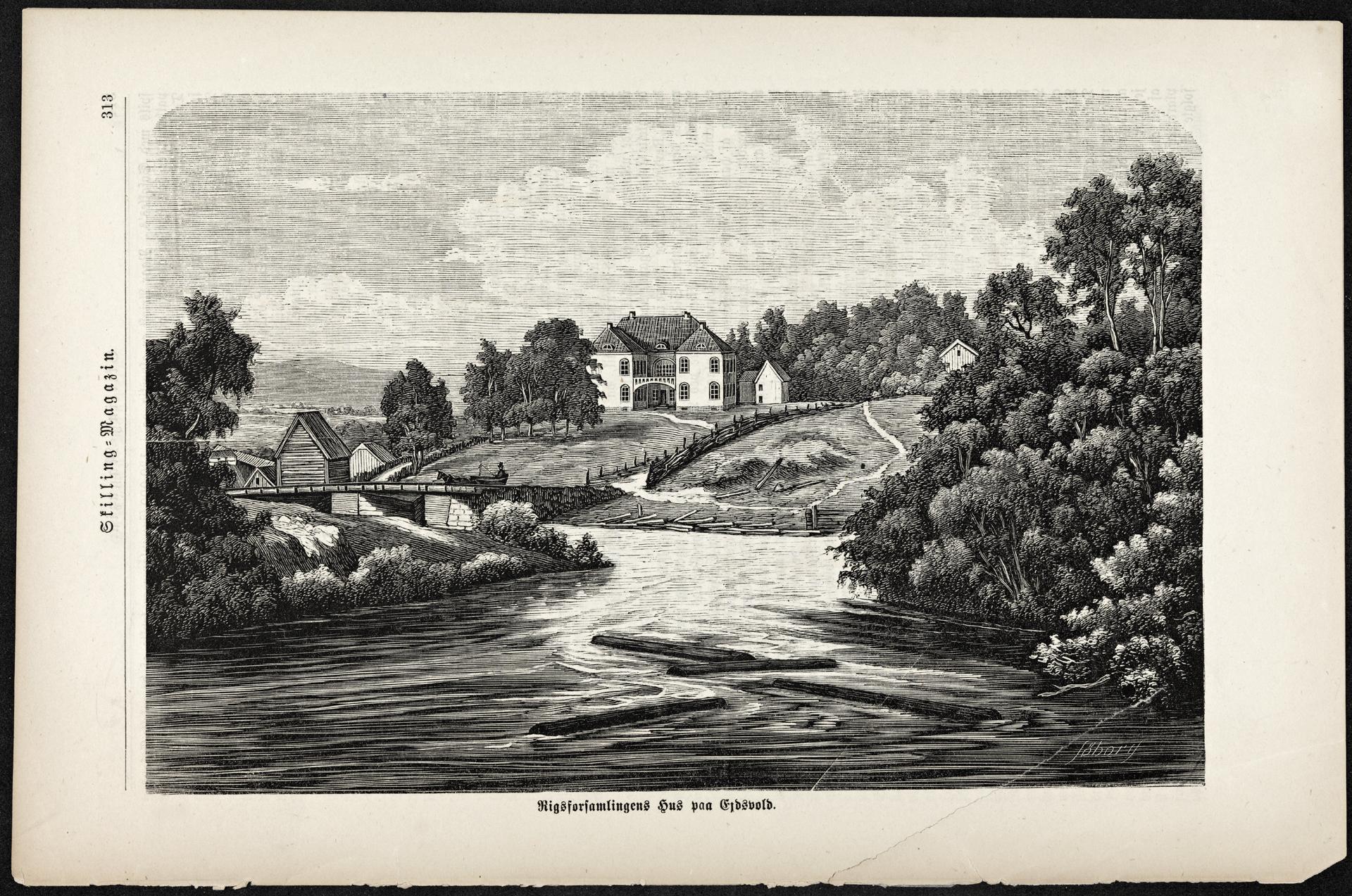 Rigsforsamlingens hus paa Ejdsvold