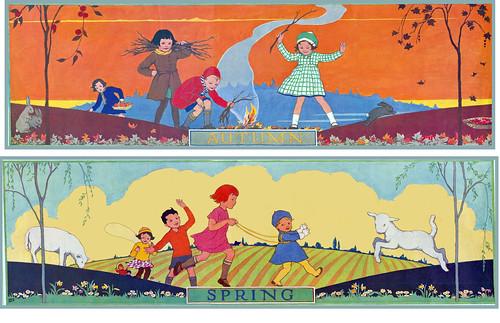 Vintage Schoolroom Poster