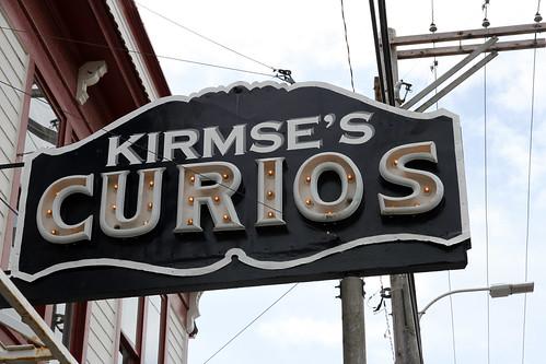 Skagway - Kirmse's Curios Sign