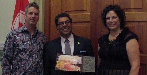 @karenscarlett @nenshi and me by dougsymington