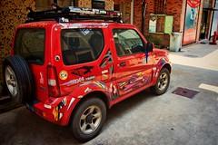 automobile, sport utility vehicle, mini sport utility vehicle, vehicle, city car, suzuki, land vehicle,